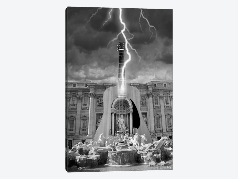 Striking A Chord by Thomas Barbey 1-piece Canvas Print