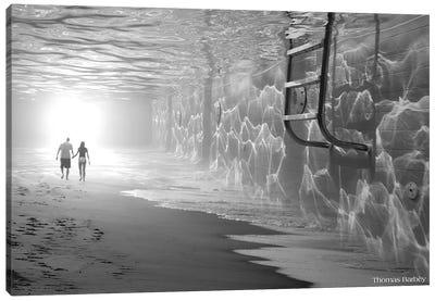 Sunbathing Canvas Print #TBY24