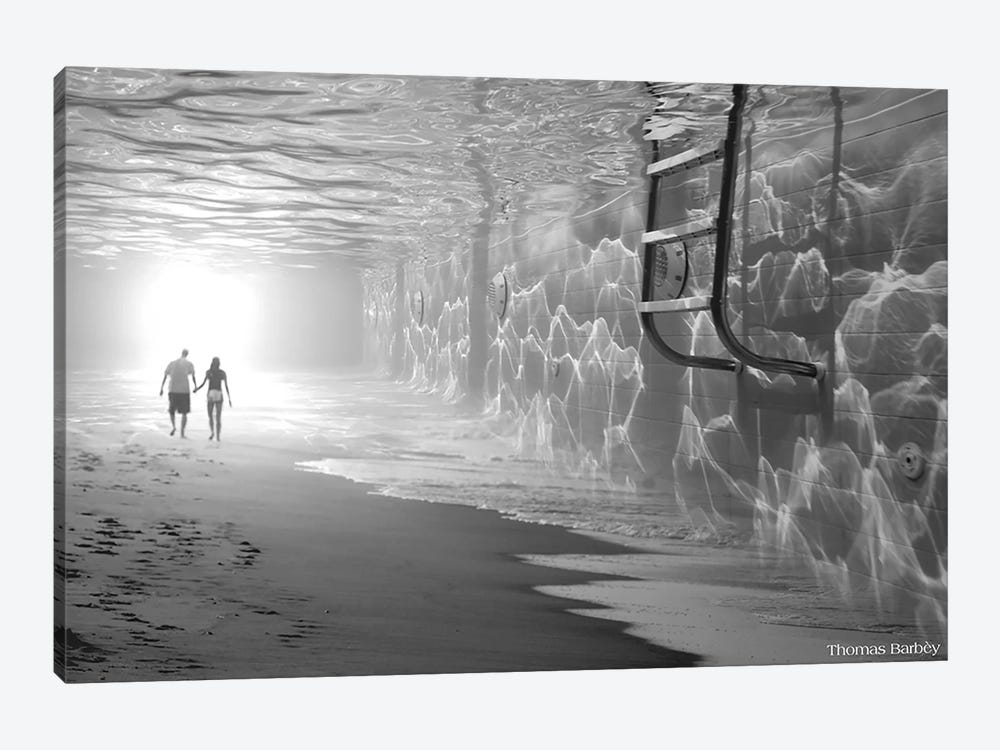 Sunbathing by Thomas Barbey 1-piece Art Print