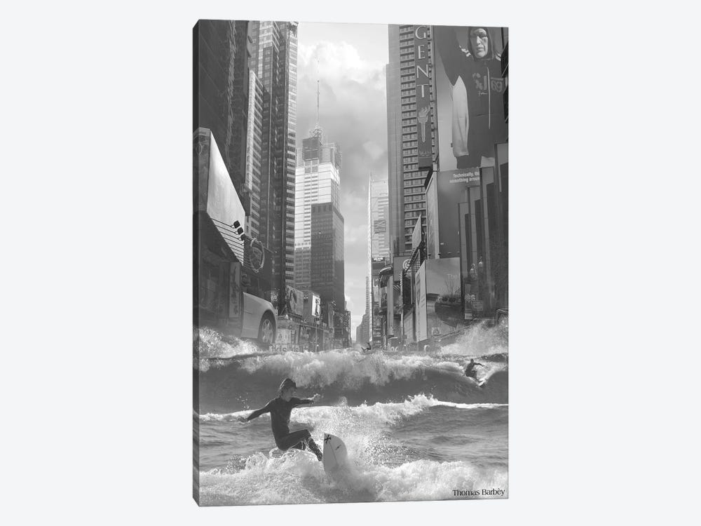 Swell Time in Town by Thomas Barbey 1-piece Canvas Artwork