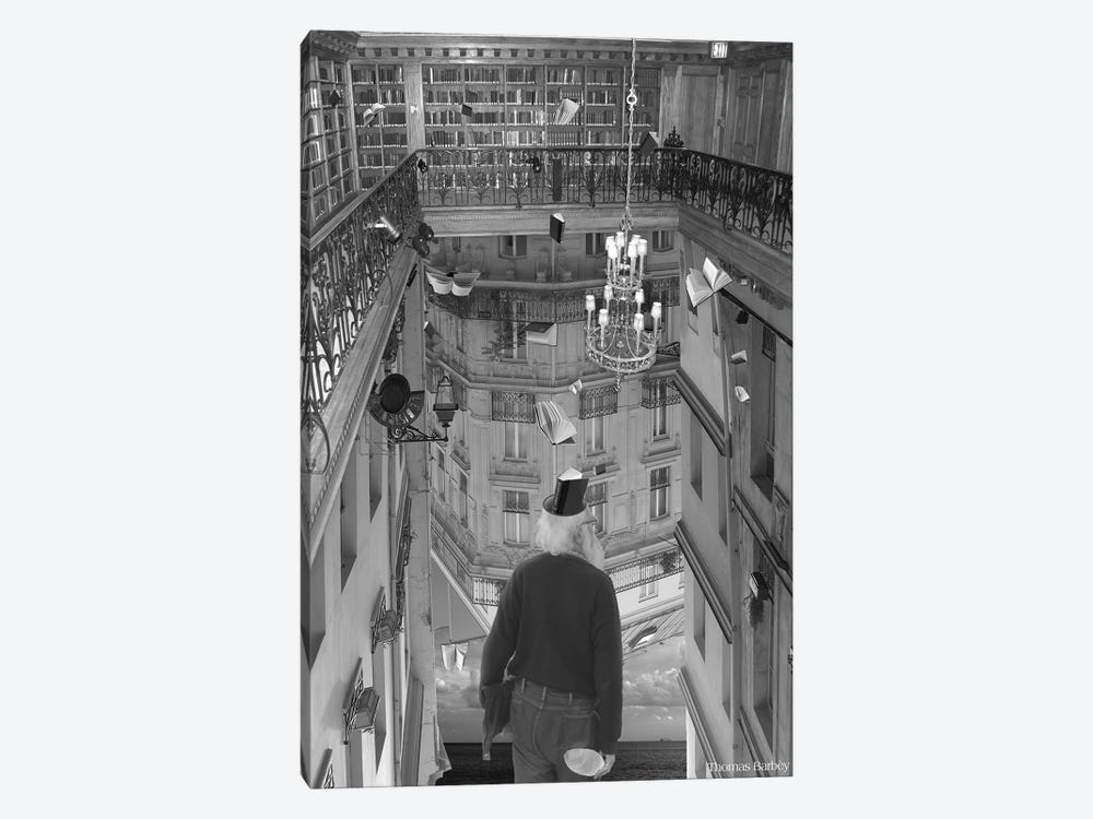 The Mind Reader by Thomas Barbey 1-piece Art Print