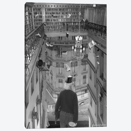 The Mind Reader Canvas Print #TBY26} by Thomas Barbey Canvas Wall Art