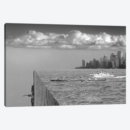 Very Sharp Left Canvas Print #TBY29} by Thomas Barbey Art Print