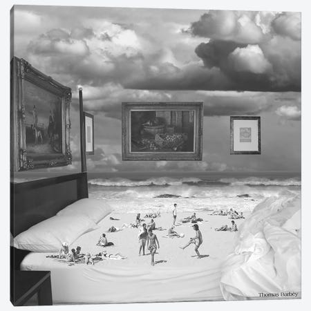Wet Dreams Canvas Print #TBY30} by Thomas Barbey Canvas Art