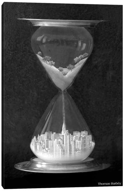 Burb to Urb Canvas Art Print
