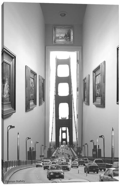 Drive Thru Gallery by Thomas Barbey Canvas Print