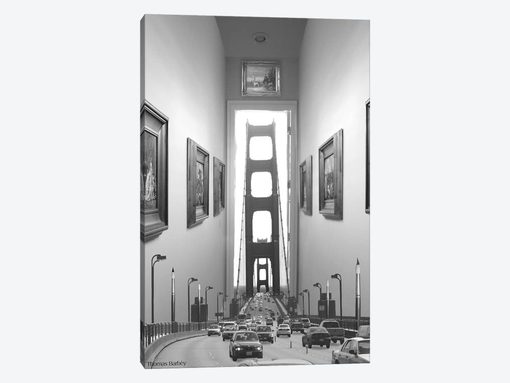Drive Thru Gallery by Thomas Barbey 1-piece Canvas Print