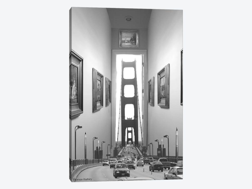 Drive Thru Gallery by Thomas Barbey 1-piece Canvas Print