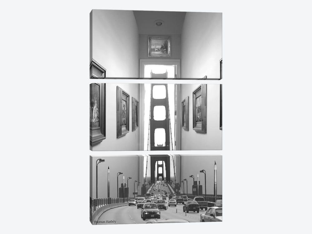 Drive Thru Gallery by Thomas Barbey 3-piece Canvas Art Print