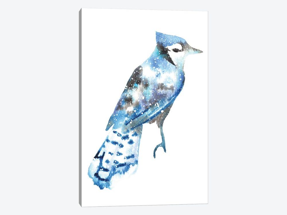 Cosmic Blue Jay by Tanya Casteel 1-piece Art Print