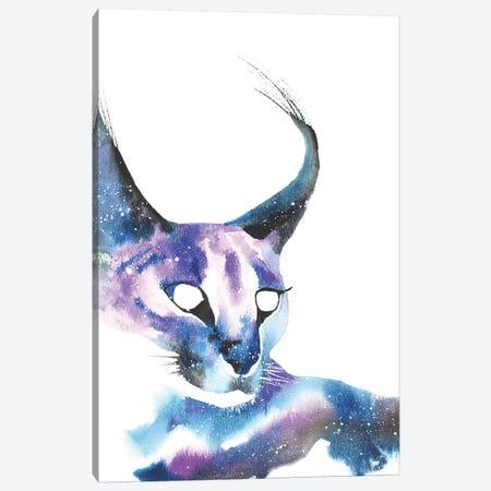 Cosmic Caracal Cat Canvas Print #TCA14} by Tanya Casteel Canvas Art