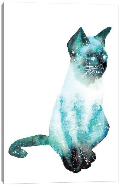 Cosmic Cat Canvas Art Print