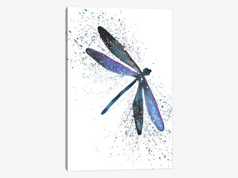 Cosmic Dragonfly by Tanya Casteel 1-piece Canvas Print
