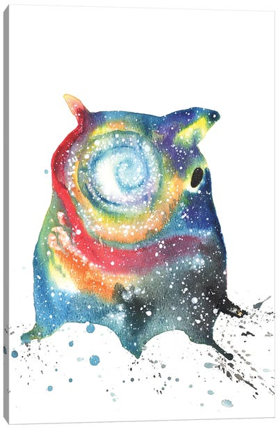 Cosmic Dumbo Octopus Canvas Art Print