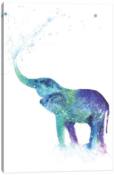 Cosmic Elephant I Canvas Art Print