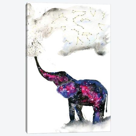 Cosmic Elephant II Canvas Print #TCA27} by Tanya Casteel Art Print