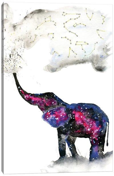 Cosmic Elephant II Canvas Art Print