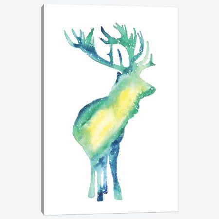 Cosmic Elk Canvas Print #TCA28} by Tanya Casteel Canvas Art