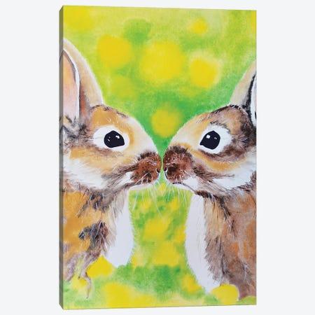Bunnies Canvas Print #TCA2} by Tanya Casteel Art Print