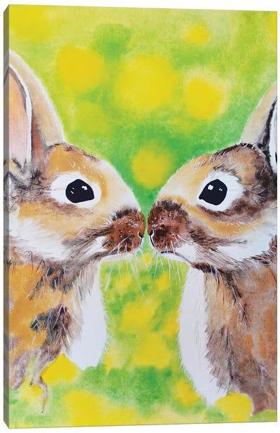 Bunnies Canvas Art Print
