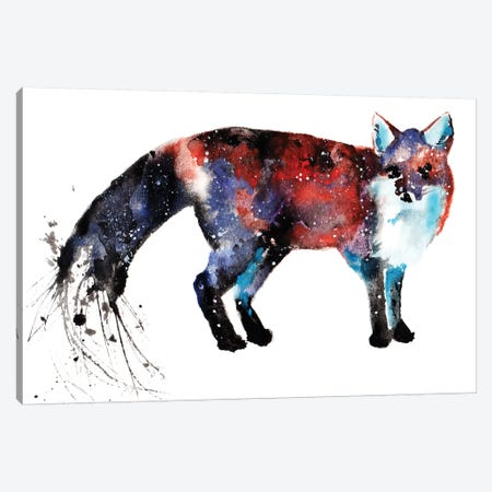 Cosmic Fox Canvas Print #TCA31} by Tanya Casteel Canvas Print