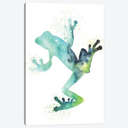 Cosmic Frog Canvas Print #TCA32} by Tanya Casteel Canvas Art Print