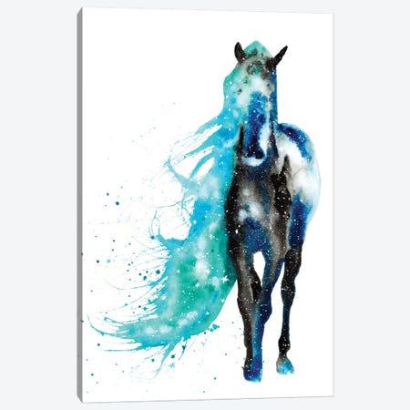 Cosmic Horse Canvas Print #TCA38} by Tanya Casteel Art Print