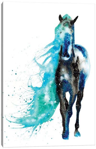 Cosmic Horse Canvas Art Print