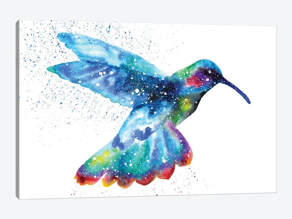 Cosmic Hummingbird I by Tanya Casteel 1-piece Canvas Print