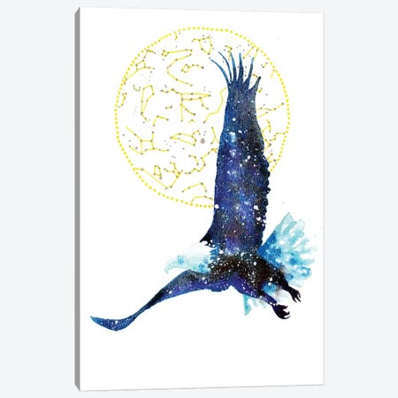 Cosmic Bald Eagle Canvas Print #TCA3} by Tanya Casteel Canvas Art Print