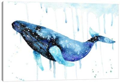 Cosmic Humpback Whale Canvas Art Print