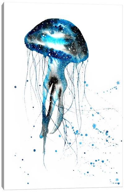 Cosmic Jellyfish Canvas Art Print