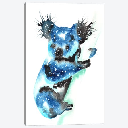 Cosmic Koala Canvas Print #TCA44} by Tanya Casteel Art Print