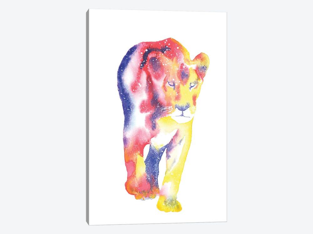 Cosmic Lioness by Tanya Casteel 1-piece Canvas Artwork