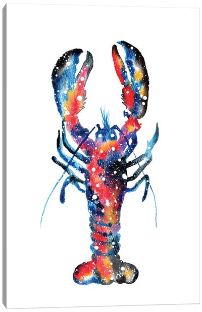 Cosmic Lobster Canvas Art Print