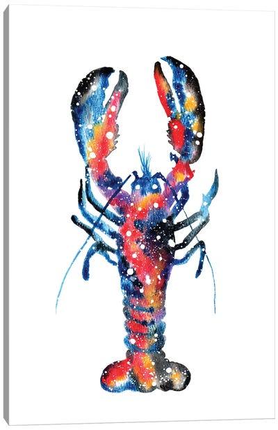 Cosmic Lobster Canvas Art Print