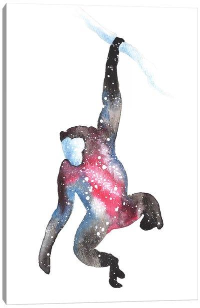 Cosmic Monkey Canvas Art Print