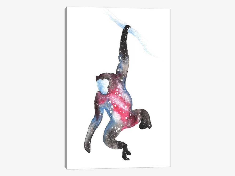 Cosmic Monkey by Tanya Casteel 1-piece Canvas Print