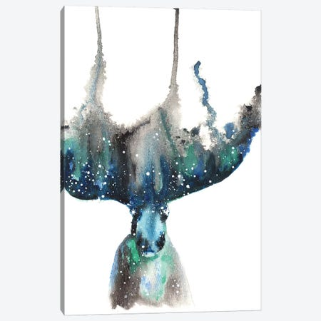 Cosmic Moose Canvas Print #TCA54} by Tanya Casteel Canvas Artwork