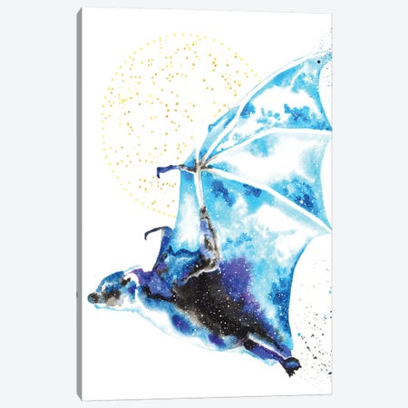 Cosmic Bat Canvas Print #TCA5} by Tanya Casteel Canvas Wall Art