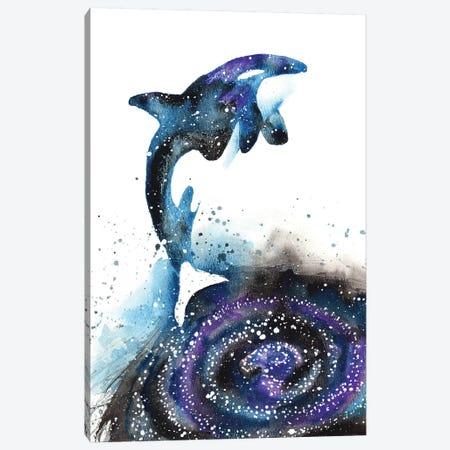 Cosmic Orca Canvas Print #TCA60} by Tanya Casteel Canvas Art