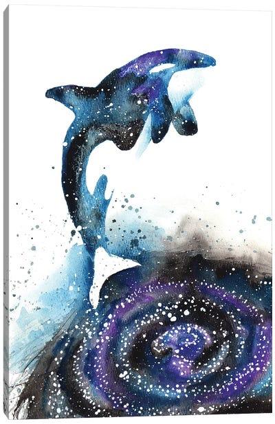 Cosmic Orca Canvas Art Print