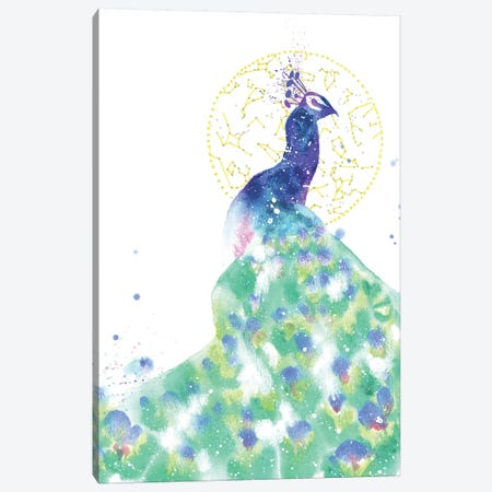 Cosmic Peacock Canvas Print #TCA63} by Tanya Casteel Canvas Art
