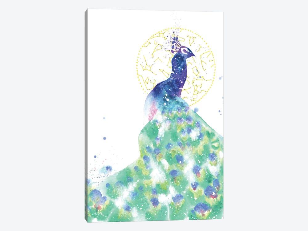 Cosmic Peacock by Tanya Casteel 1-piece Canvas Artwork