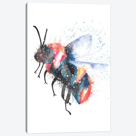 Cosmic Bee Canvas Print #TCA6} by Tanya Casteel Canvas Art