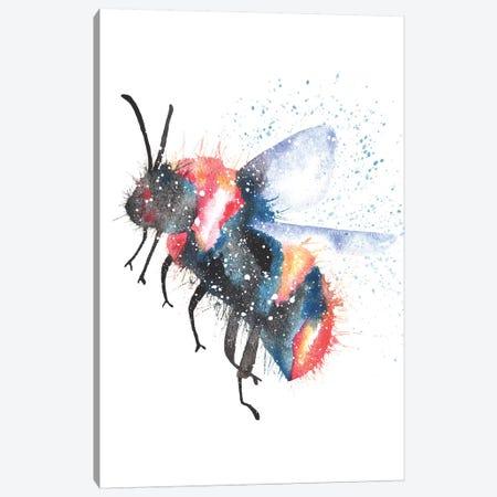 Cosmic Bee Canvas Print #TCA6} by Tanya Casteel Canvas Art