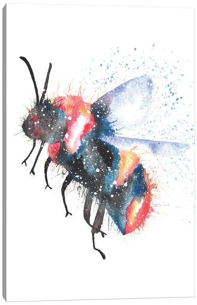 Cosmic Bee Canvas Art Print