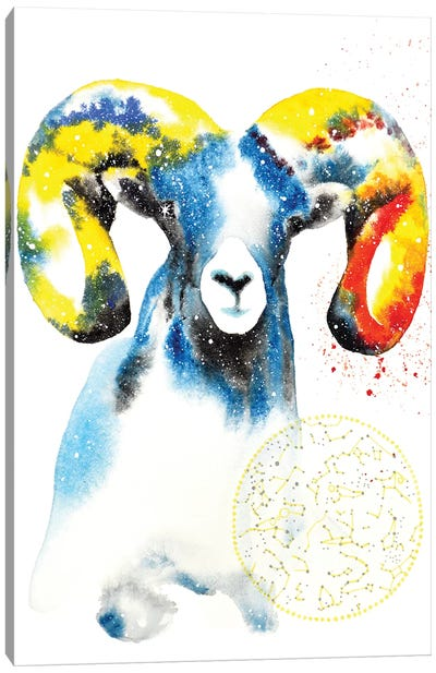 Cosmic Ram Canvas Art Print