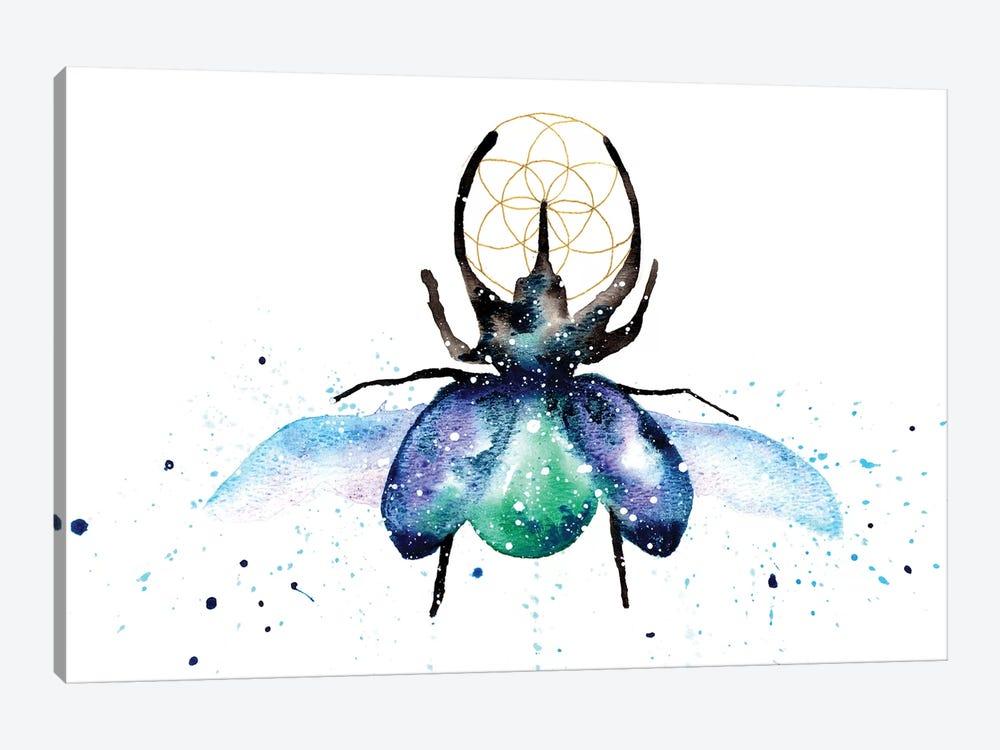Cosmic Scarab Beetle by Tanya Casteel 1-piece Canvas Wall Art