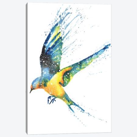 Cosmic Swallow Canvas Print #TCA81} by Tanya Casteel Canvas Wall Art